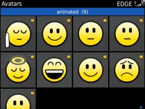 Avatar Animatif BBM 6.1 300x225 Avatar Animatif BBM 6.1