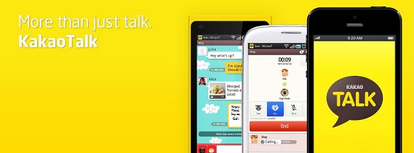KakaoTalk Mobile Messenger di lengkapi berbagai Fitur