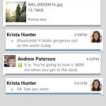bbm for android chat