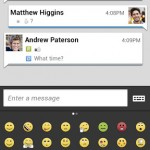 bbm for android emoticon